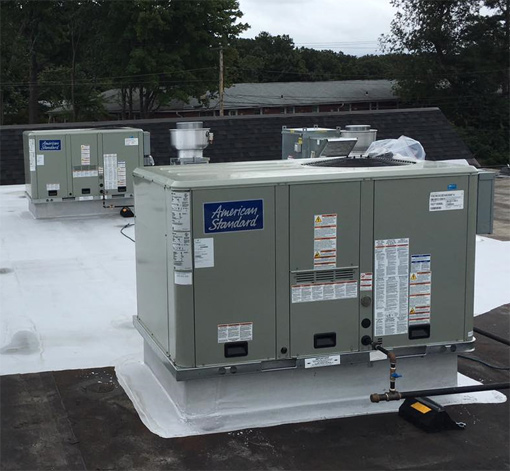 commercial HVAC installation image