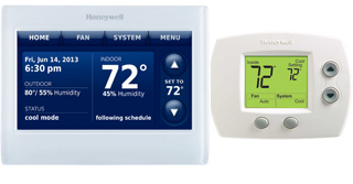 Honeywell thermostat image